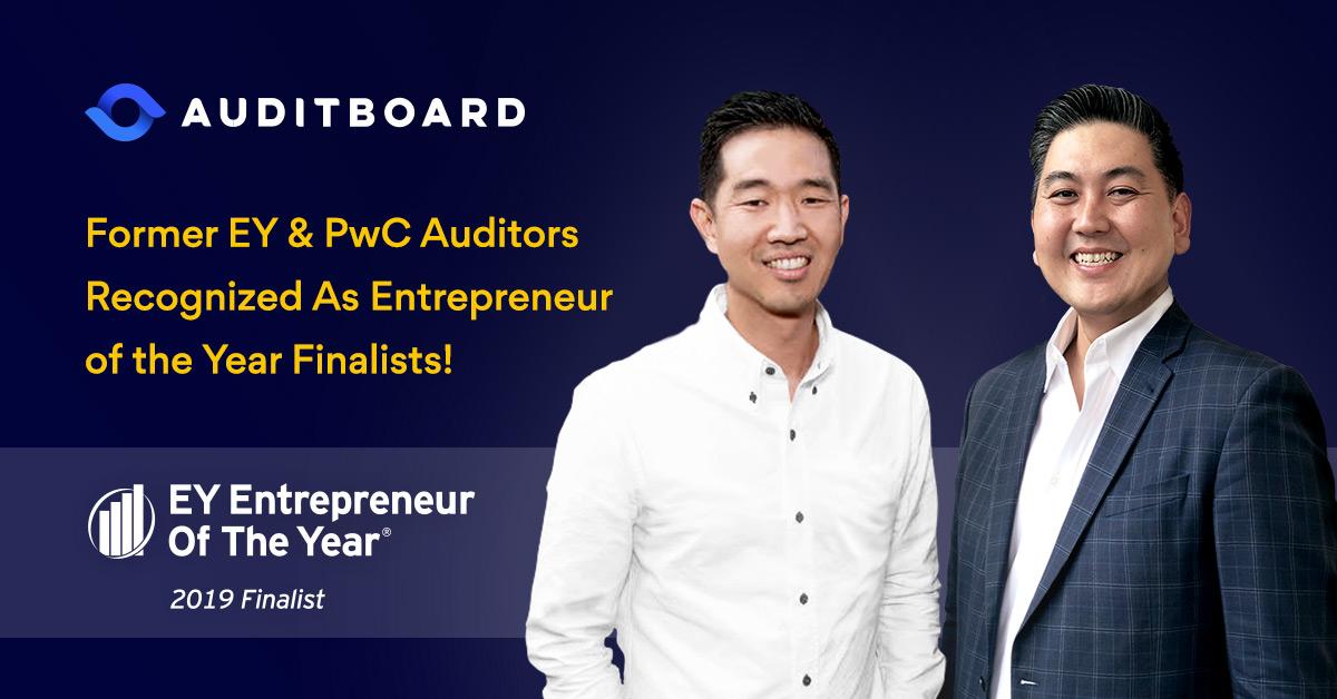 EY Names AuditBoard Founders Daniel Kim and Jay Lee as Entrepreneur