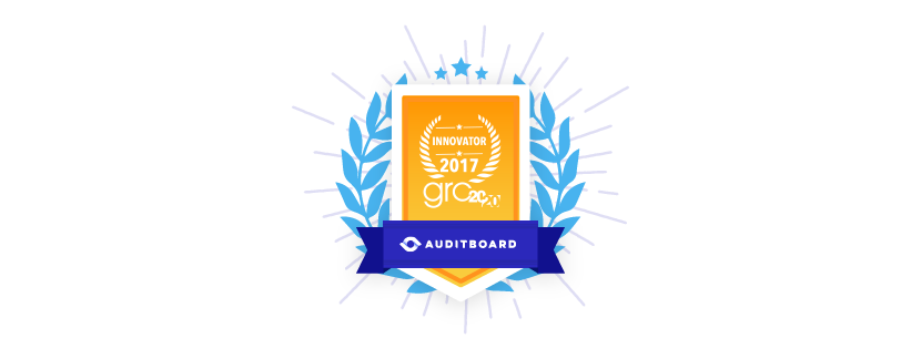 AuditBoard Wins GRC Innovation Award for Best User Experience