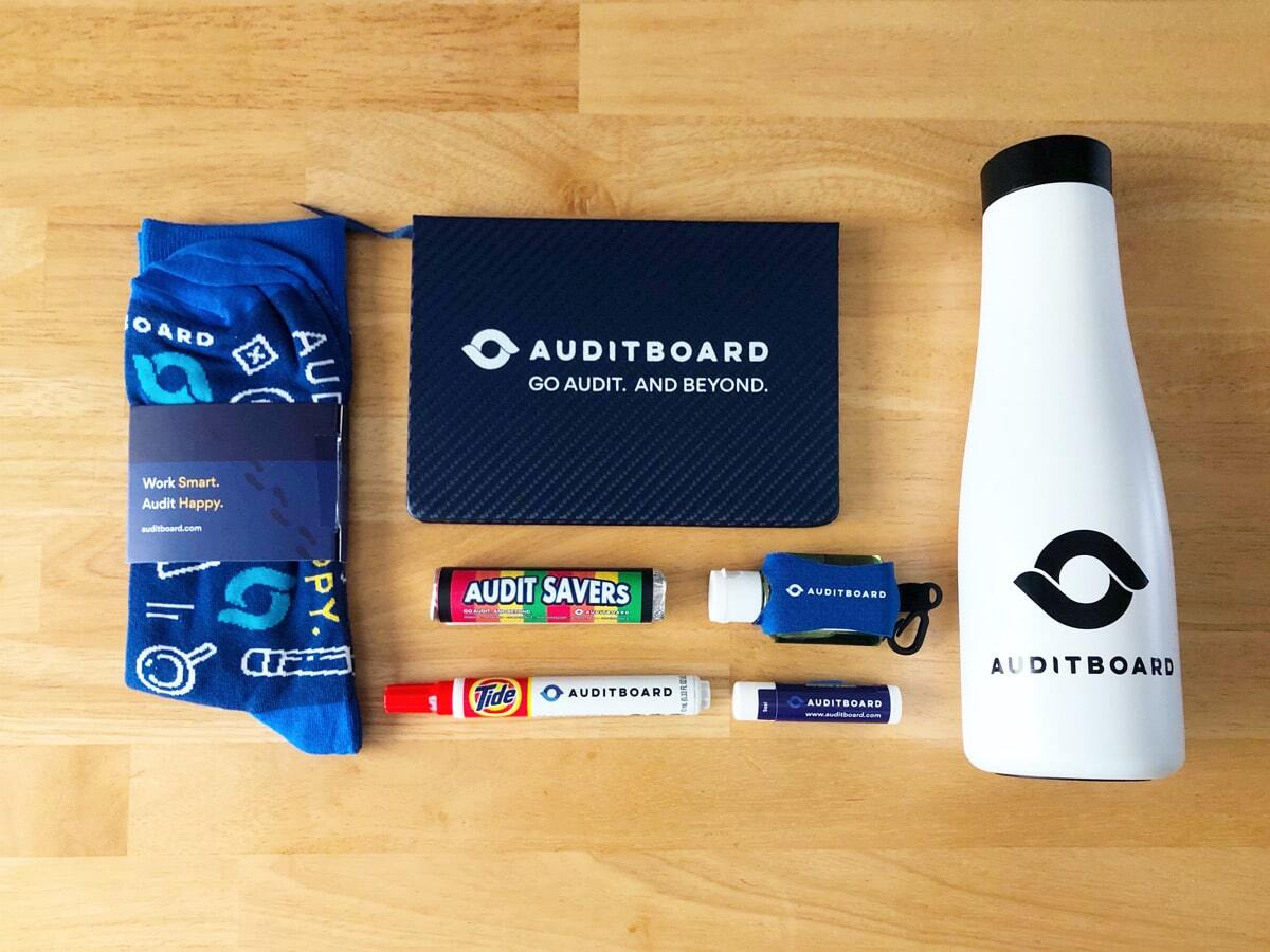 AuditBoard Swag Bag