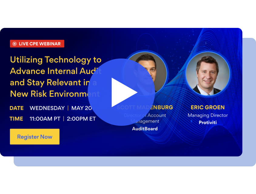 Utilizing Technology to Advance Internal Audit and Stay Relevant in a New Risk Environment