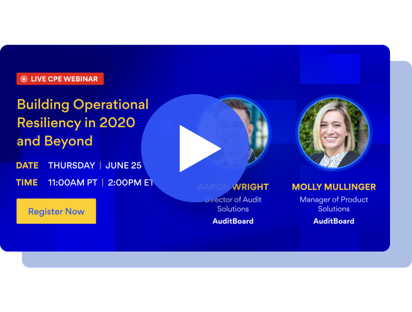Building Operational Resiliency in 2020 & Beyond