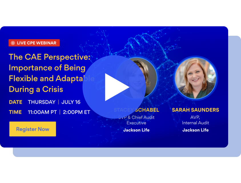 The CAE Perspective: Importance of Being Flexible and Adaptable During a Crisis