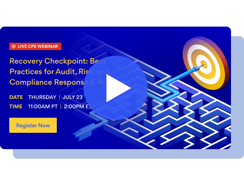 Recovery Checkpoint: Best Practices for Audit, Risk, and Compliance Response & Recovery