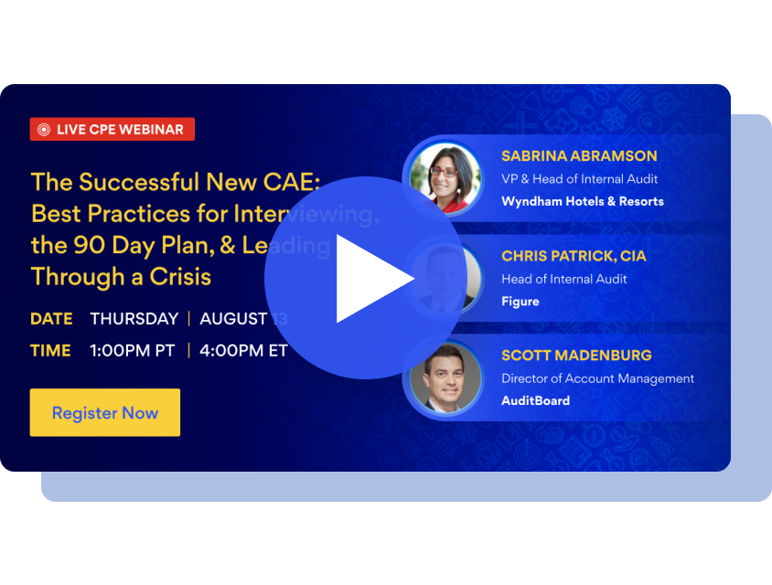 The Successful New CAE: Best Practices for Interviewing, the 90 Day Plan, & Leading Through a Crisis