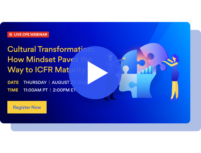 Cultural Transformation: How Mindset Paves the Way to ICFR Maturity