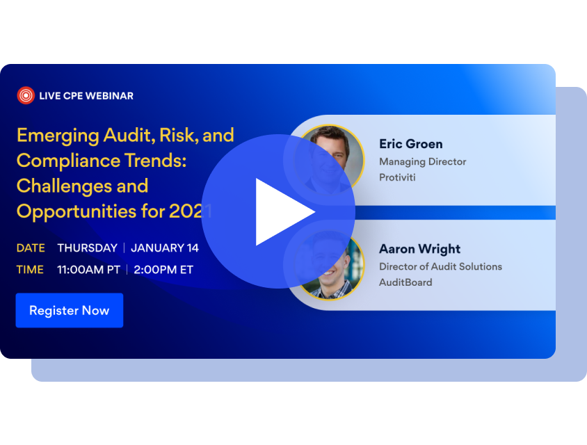 Emerging Audit, Risk, and Compliance Trends: Challenges and Opportunities for 2021
