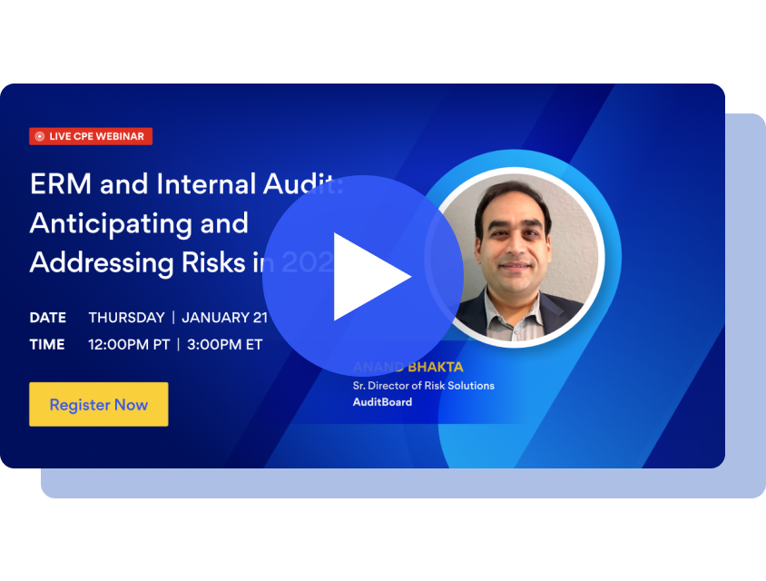 ERM and Internal Audit: Anticipating and Addressing Risks in 2021